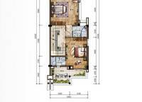 D2新泰式联排别墅二层平面图 3室4厅5卫1厨 182.00㎡