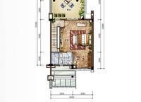 D2新泰式联排别墅三层平面图 3室4厅5卫1厨 182.00㎡