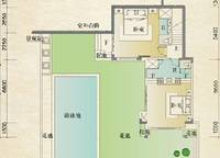 别墅A第二层户型 2室0厅2卫1厨 0.00㎡