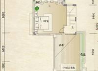 别墅C第二层户型 1室0厅1卫1厨 0.00㎡