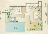 别墅C第三层户型 2室0厅2卫1厨 0.00㎡