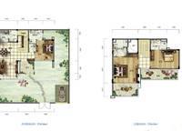 雅居乐月亮湾别墅户型图A1 3室3厅3卫1厨 172.00㎡