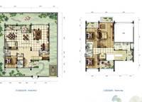 雅居乐月亮湾别墅户型图C3 4室3厅6卫1厨 340.00㎡