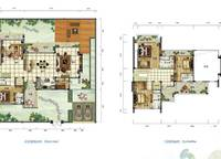 雅居乐月亮湾别墅户型图C4 4室3厅5卫1厨 399.00㎡