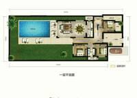 麓云居 G1户型二层 五房两厅三卫 170㎡ 2室2厅1卫1厨 170.00㎡