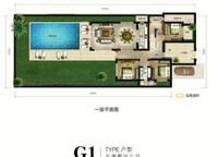 麓云居 G1户型一层 五房两厅三卫 170㎡ 5室2厅3卫1厨 170.00㎡