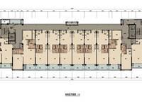 棕榈苑1、4号楼平层图 2室2厅1卫1厨 0.00㎡
