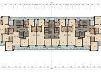 棕榈苑7号楼平层图 2室2厅1卫1厨 0.00㎡
