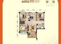 二线揽海洋房-- 3室2厅1卫1厨 93.88㎡