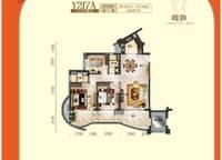 一线海景洋房户型图Y217A【直面看海】 3室2厅2卫1厨 139.87㎡