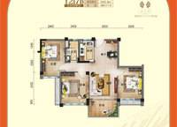 一线揽海洋房- 3室2厅1卫1厨 93.38㎡