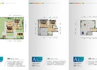 独栋别墅A1a户型 3室2厅4卫1厨 211.00㎡