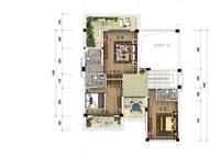 A2a户型 四房三厅四卫 245㎡ 4室2厅4卫1厨 245.00㎡