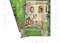 A1a户型 三房两厅四卫 197㎡ 3室2厅3卫1厨 197.00㎡