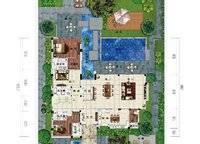 B6户型 六房三厅五卫 551㎡ 6室3厅5卫1厨 551.00㎡