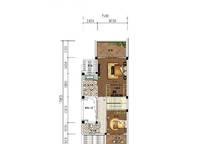 C9户型 三房两厅三卫 186㎡ 3室2厅3卫1厨 186.00㎡