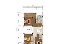 C10a、C10b户型 三房两厅四卫 229㎡ 3室2厅4卫1厨 229.00㎡
