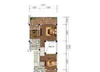 C11a、C11b、C11c户型 三房两厅三卫 206㎡ 3室2厅3卫1厨 206.00㎡