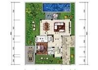 B1、B1a户型 三房两厅四卫 204㎡ 3室2厅4卫1厨 204.00㎡