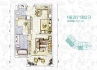 A户型 一室一厅一卫 87㎡ 1室1厅1卫1厨 87.00㎡