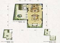 叠拼别墅D2-a户型 184㎡ 2室2厅1卫1厨 184.00㎡