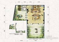 叠拼别墅D5-a户型 一室一厅一卫 56㎡ 1室1厅1卫1厨 56.00㎡