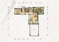 独栋别墅V1户型三层 六室四厅六卫 486㎡ 6室4厅6卫1厨 486.00㎡