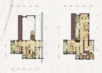 独栋别墅V4户型三、四层 五室四厅四卫 631㎡ 5室4厅4卫1厨 361.00㎡