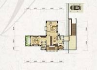 独栋别墅V5户型-三层 五室三厅四卫 309㎡ 5室3厅4卫1厨 309.00㎡