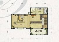双拼别墅S1-a户型三层 四室四厅三卫 280㎡ 4室4厅3卫1厨 280.00㎡