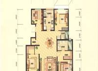 G2C户型 四室两厅两卫 143㎡ 4室2厅2卫1厨 143.00㎡