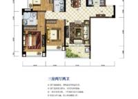 三房两厅两卫114平米 3室2厅2卫1厨 114.00㎡