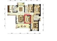 海境新天01户型 159平 4室2厅2卫1厨 159.00㎡