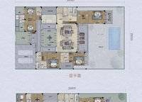 C2户型 339㎡ 6室2厅6卫1厨 339.00㎡