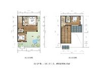 h1-2 2室2厅2卫1厨 84.37㎡