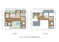 h7 4室2厅4卫1厨 192.58㎡