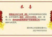 金地二七储备用地 郑政出[2021]6号(网)